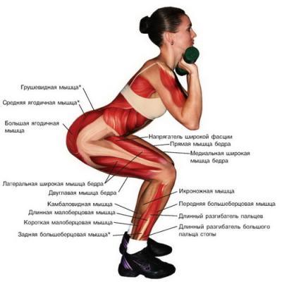похудение ног питание