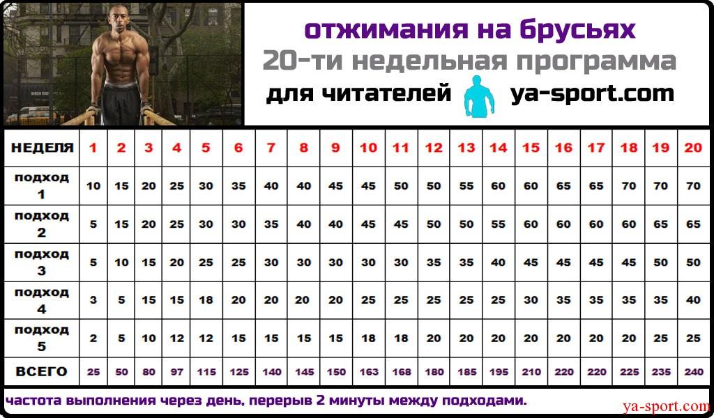 программа тренировок для похудения видео