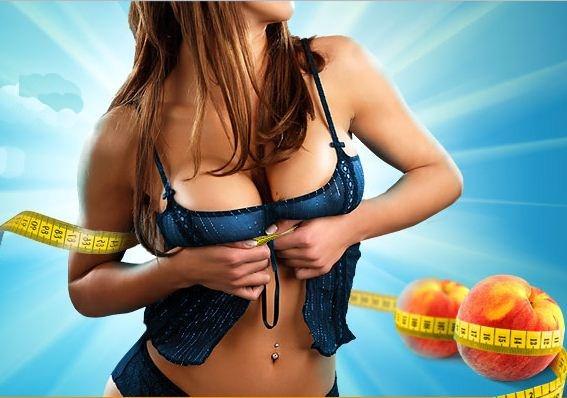 увеличить грудь питание
